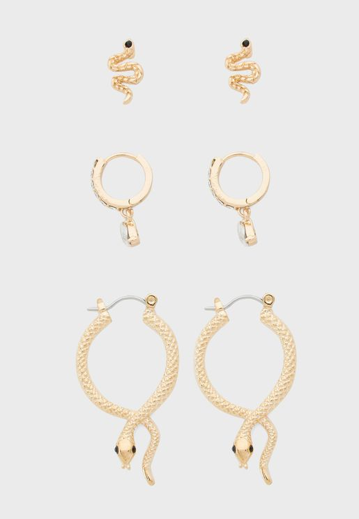 Sylithh Earrings Set