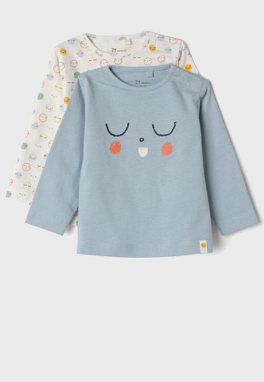 Infant 2 Pack Printed T-Shirt