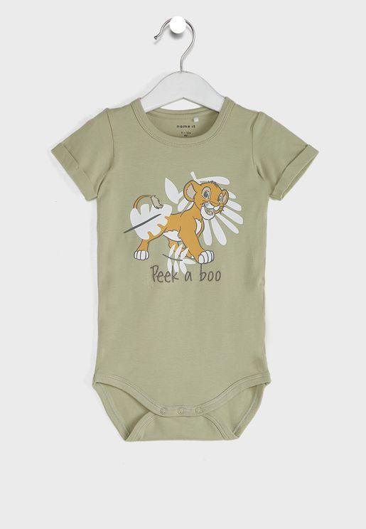 Infant Lion Kids Bodysuit
