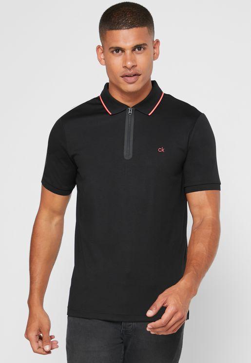Liquid Touch Zipper T-Shirt