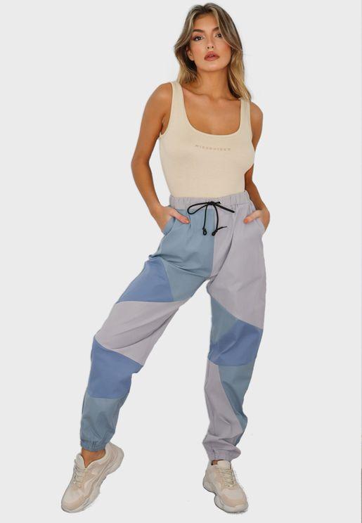 Colourblock Pants