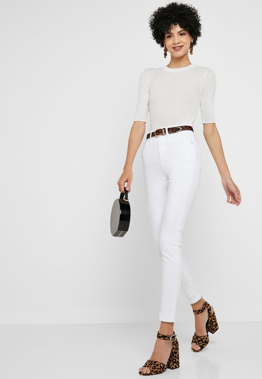 Jamie High Rise Skinny Jeans