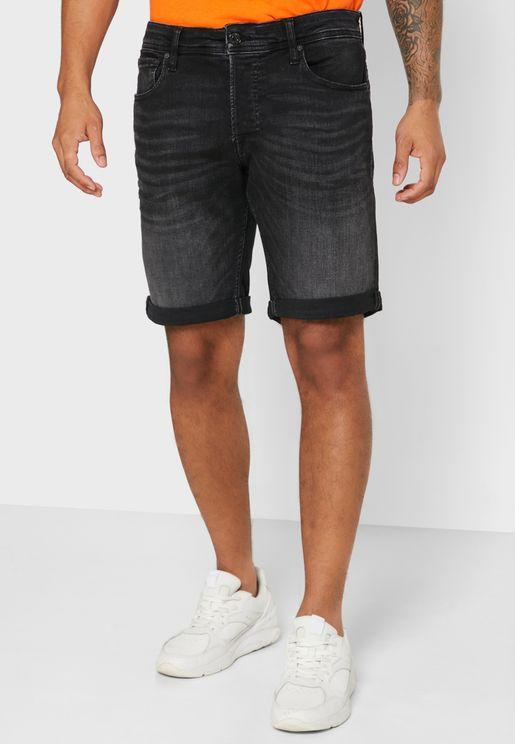 Folded Hem Shorts