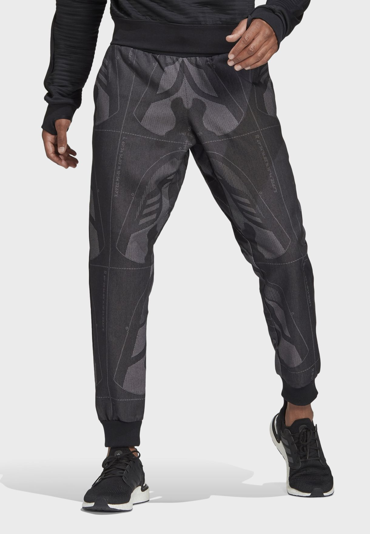 Jacquard Sweatpants