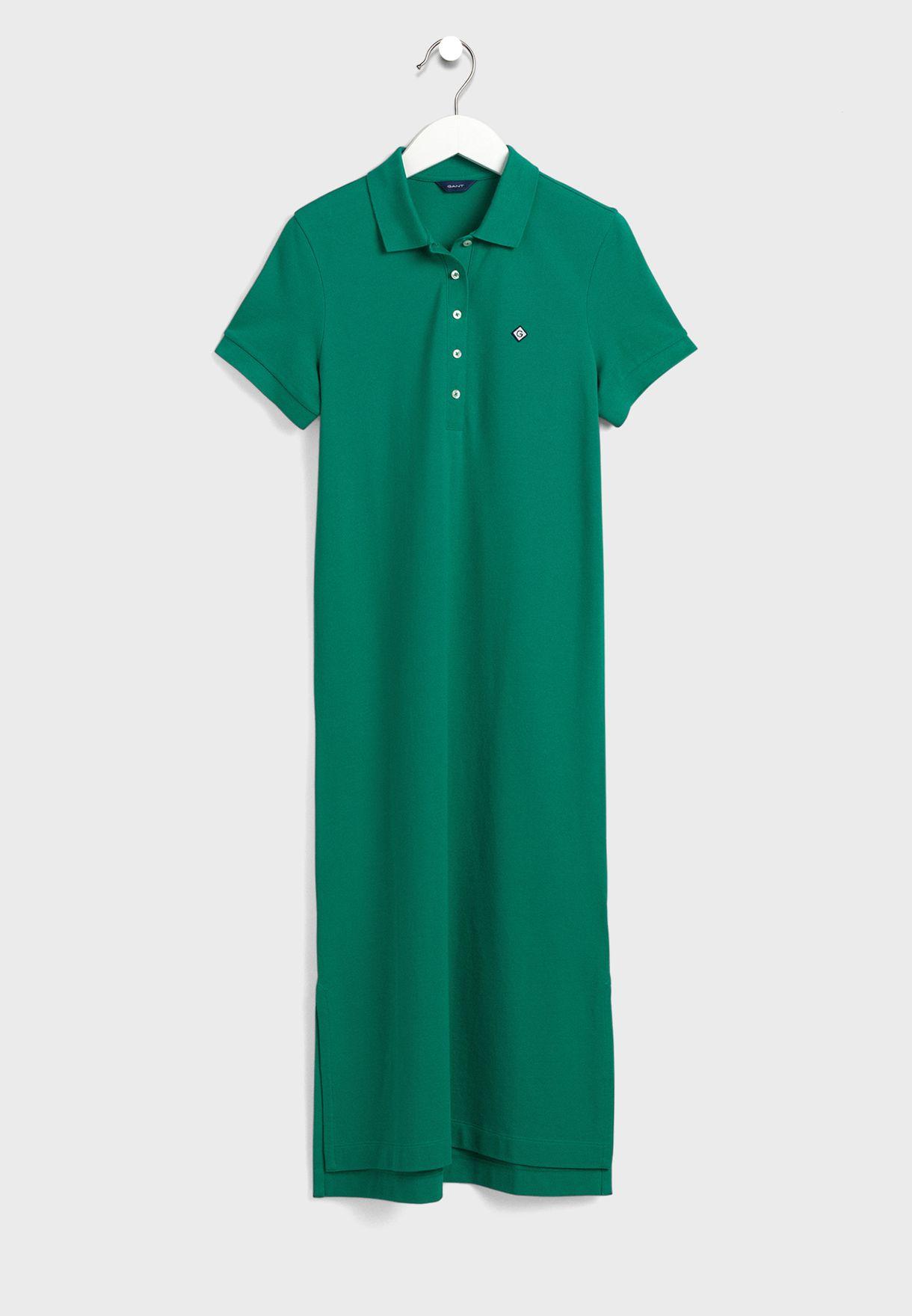 Piqué Polo Dress