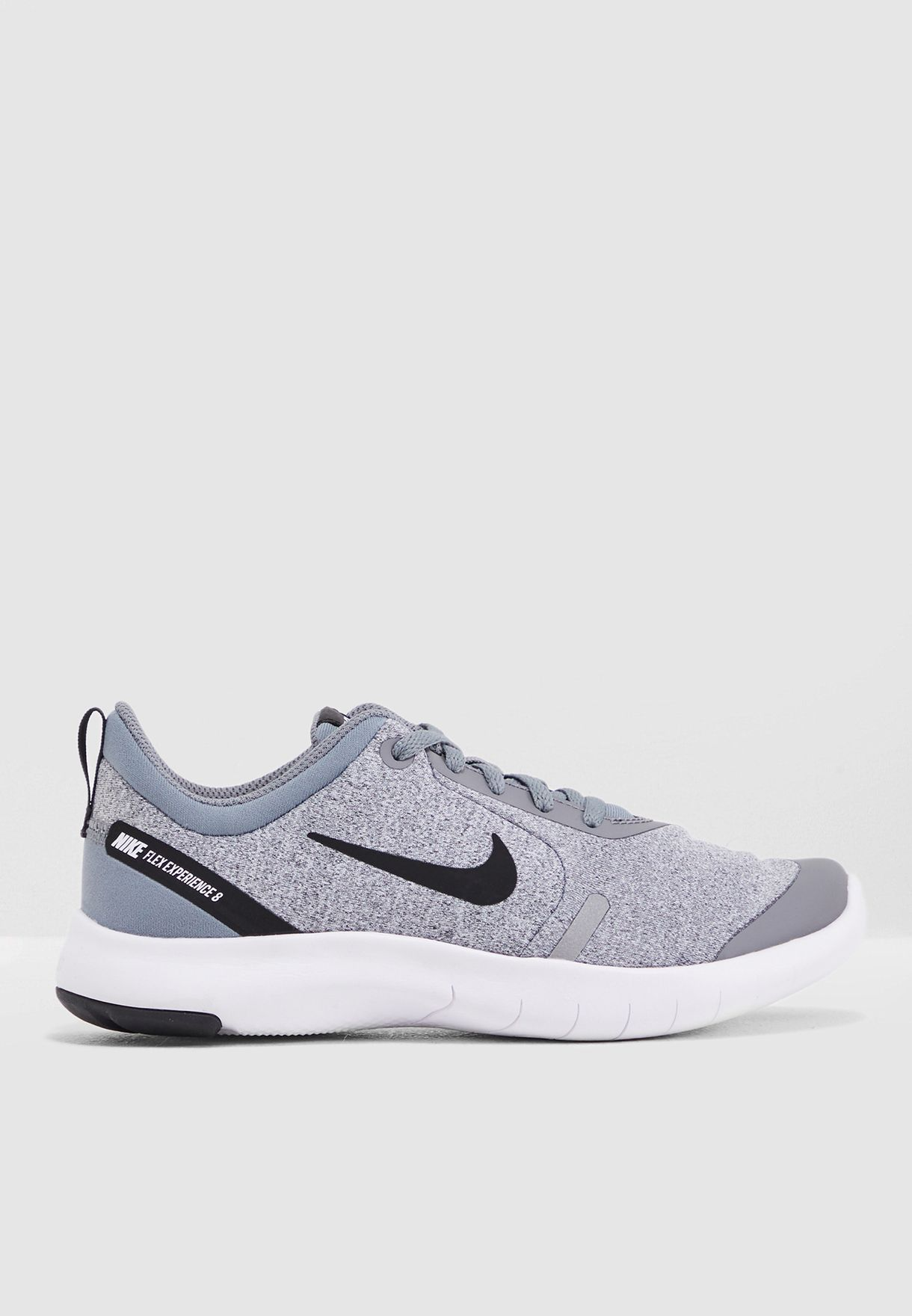 0488a93a97d8 Shop Nike grey Youth Flex Experience RN 8 AQ2246-003 for Kids in UAE ...