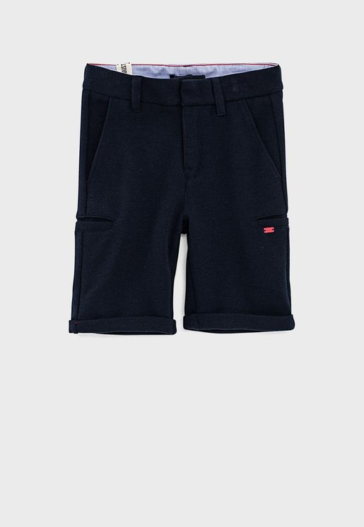 Youth Side Pocket Shorts