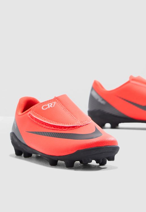 uk availability a4249 9c10c Kids Vapor 12 Club CR7 FG