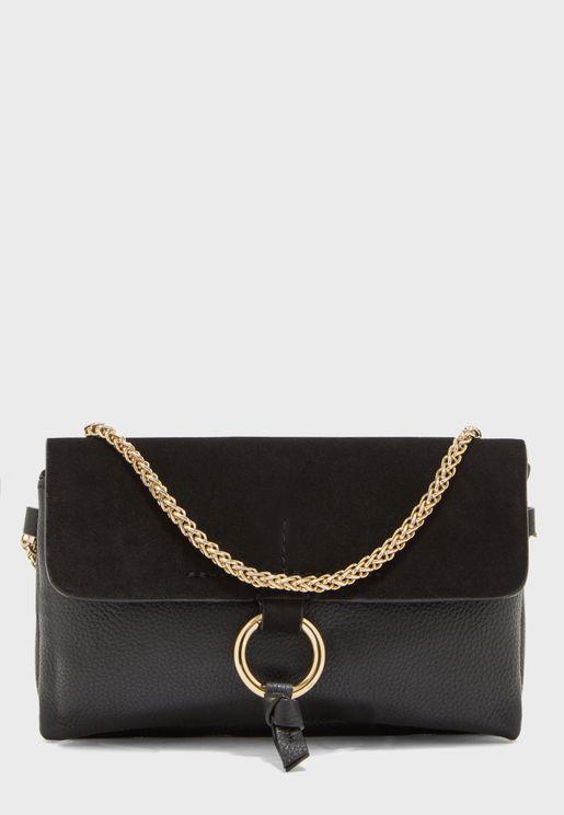 Ilva Leather Crossbody Bag