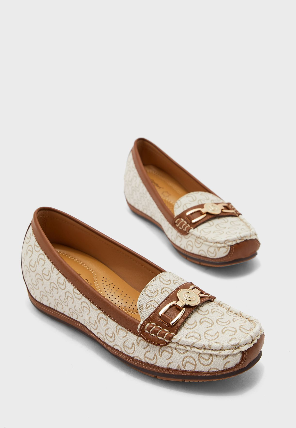 Printed Moccasin