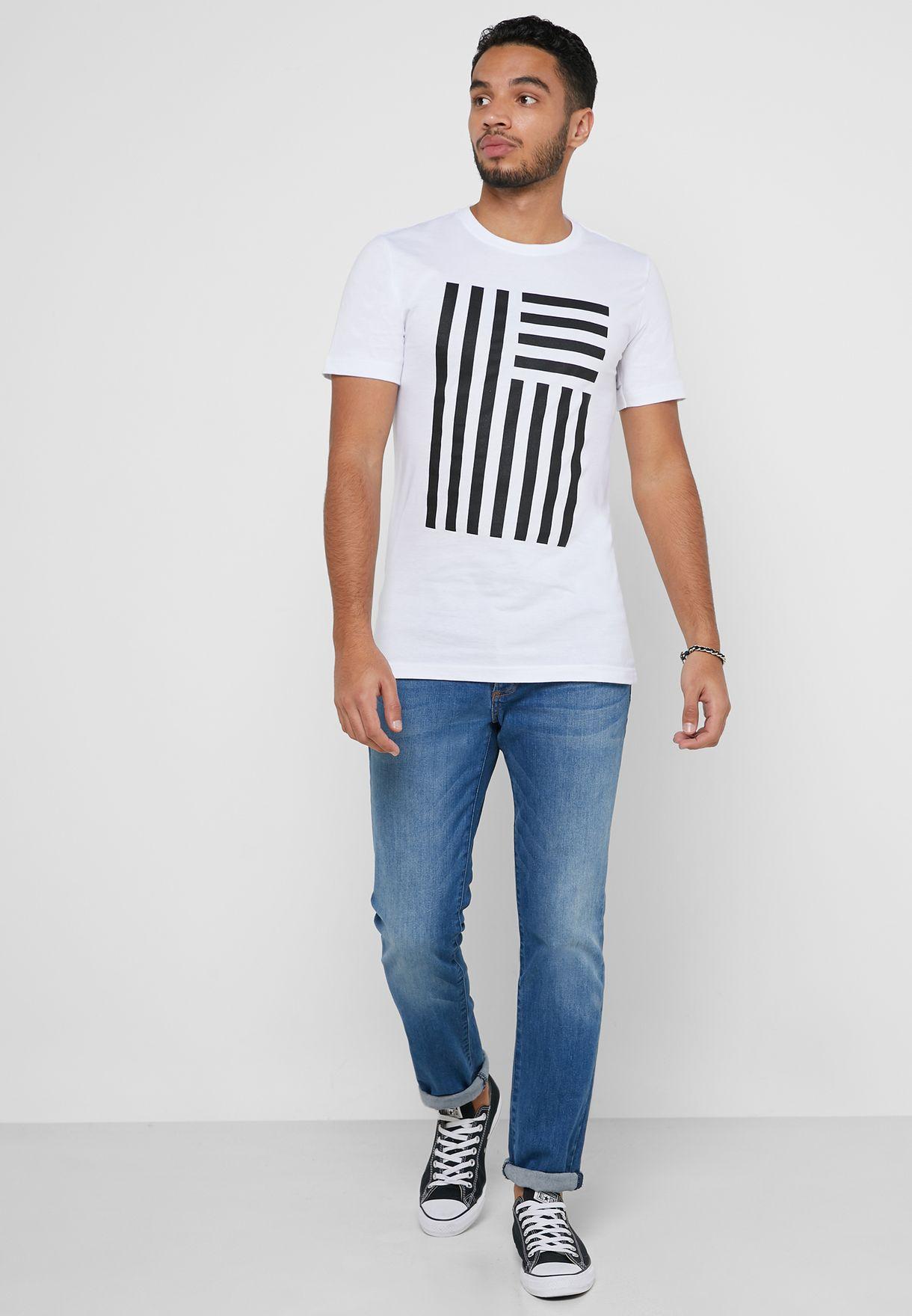 Flag Print T-Shirt