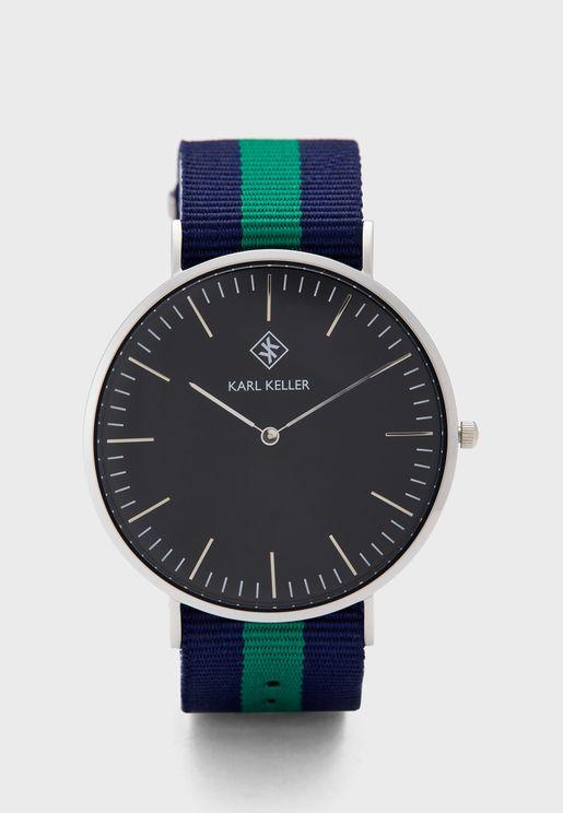 KKLS02 N1 Nato Strap Watch