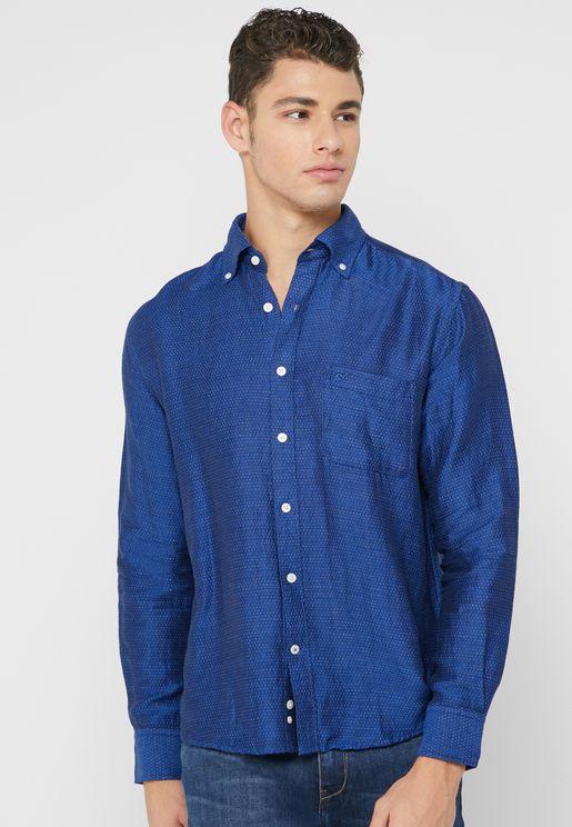 قميص بجيب واحد