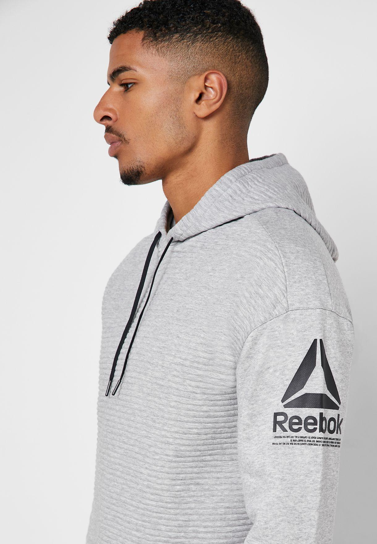 Reebok Workout Ready Fleece Hoodie