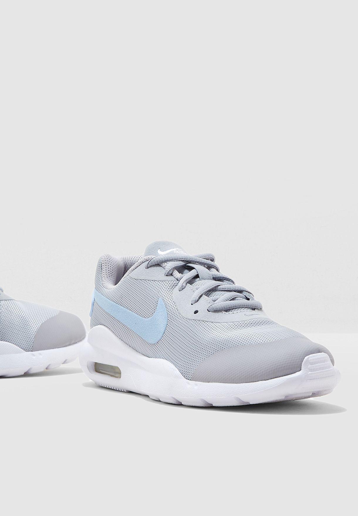 brand new 6f10f 7b3e4 Shop Nike grey Air Max Oketo AR7423-002 for Kids in UAE - 72704SH25UJP