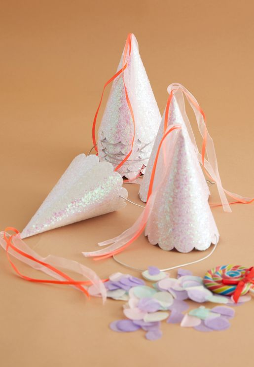 Magical Princess Party Hats 8 Pack