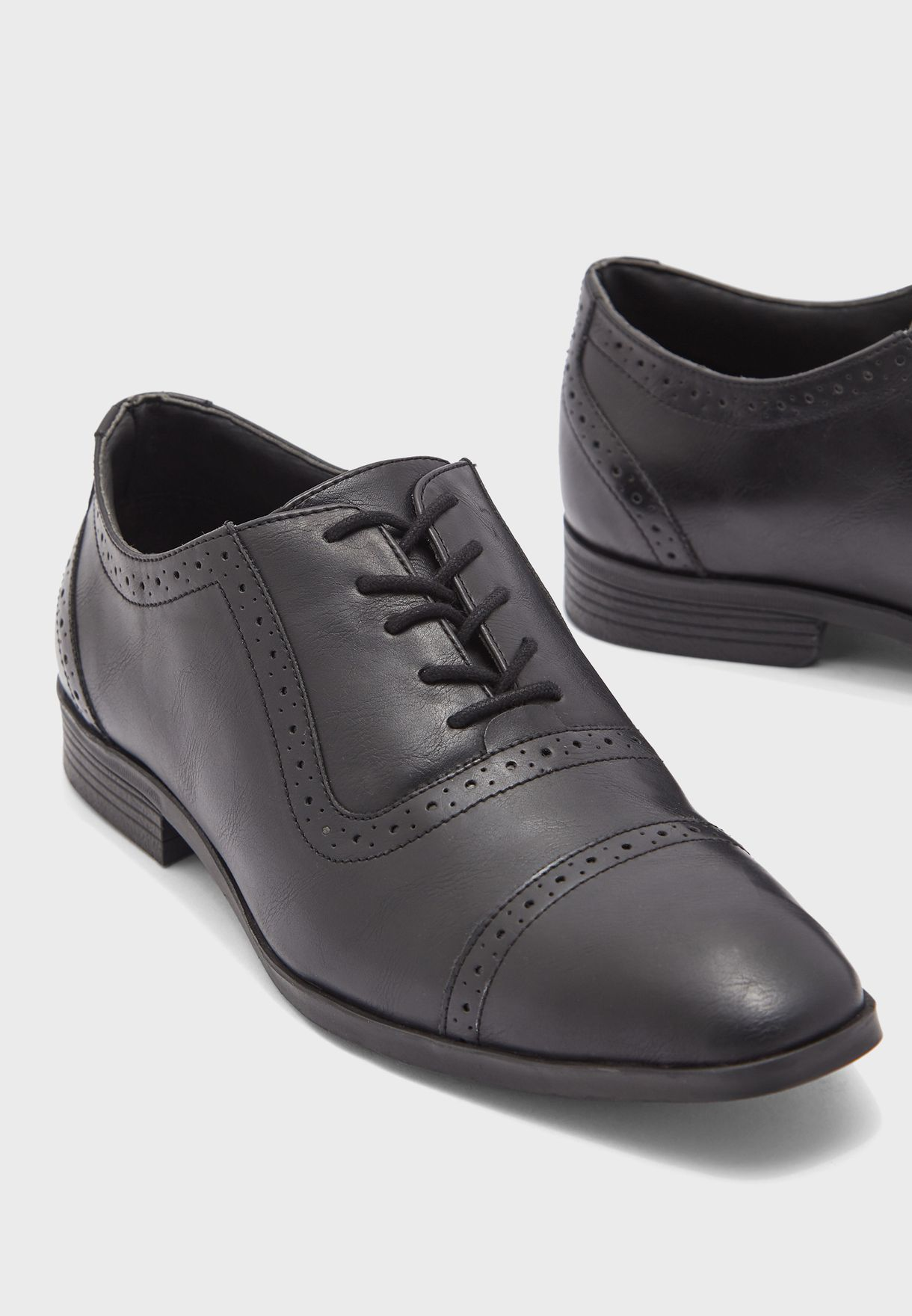 Comfort Gel Insole Formal Oxford Lace Up