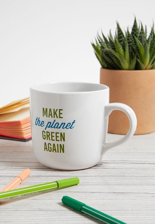 Make The Planet Green Again Mug