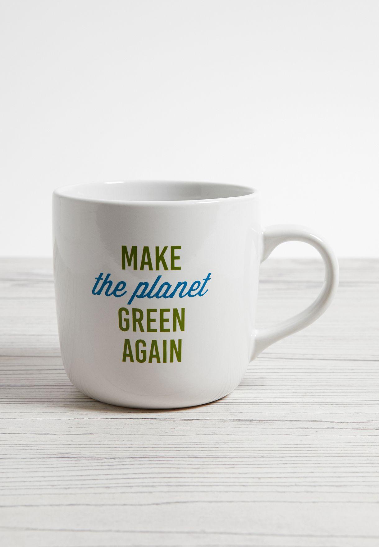Make The Planet Green Again Mug