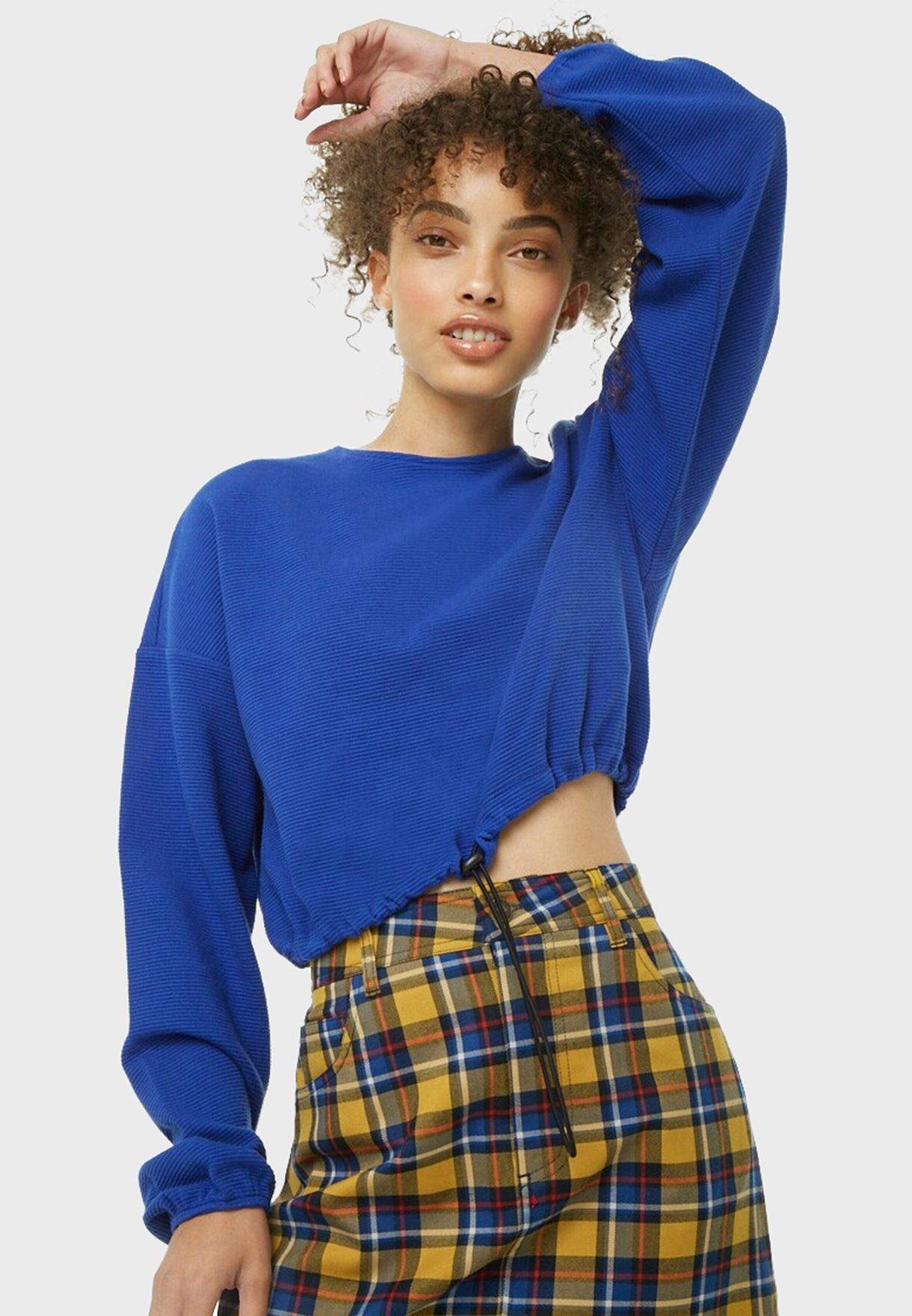 Knitted Cropped Top