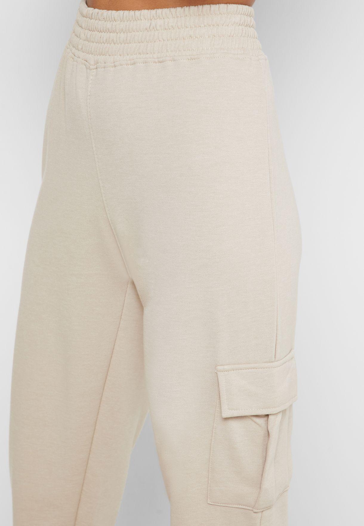 Pocket Detail High Waist Joggers