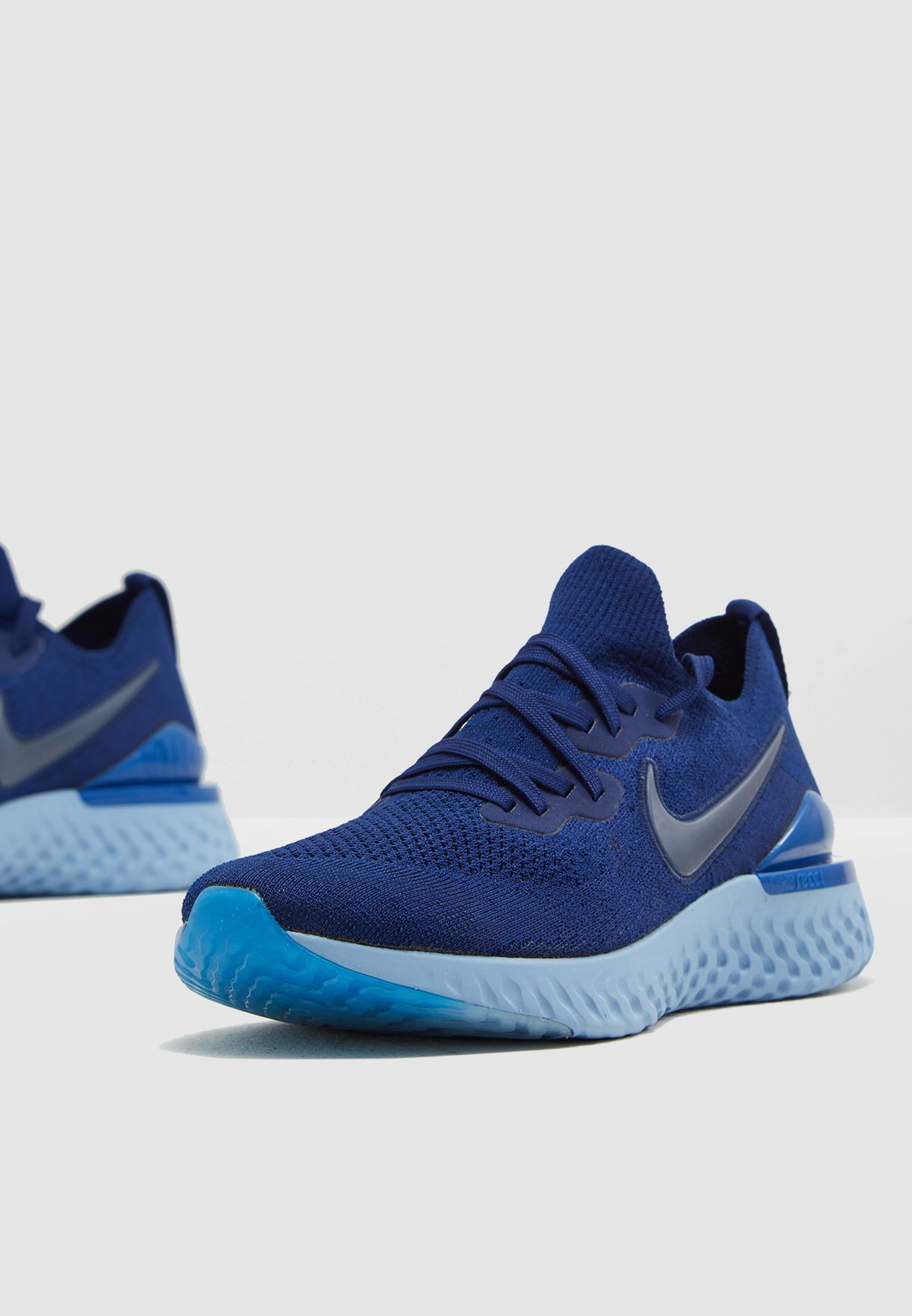 115ba9723a5e Shop Nike blue Epic React Flyknit 2 BQ8928-400 for Men in UAE ...