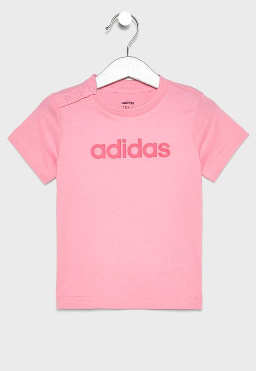 edd469ddd0c51 Infant Linear T-Shirt. adidas