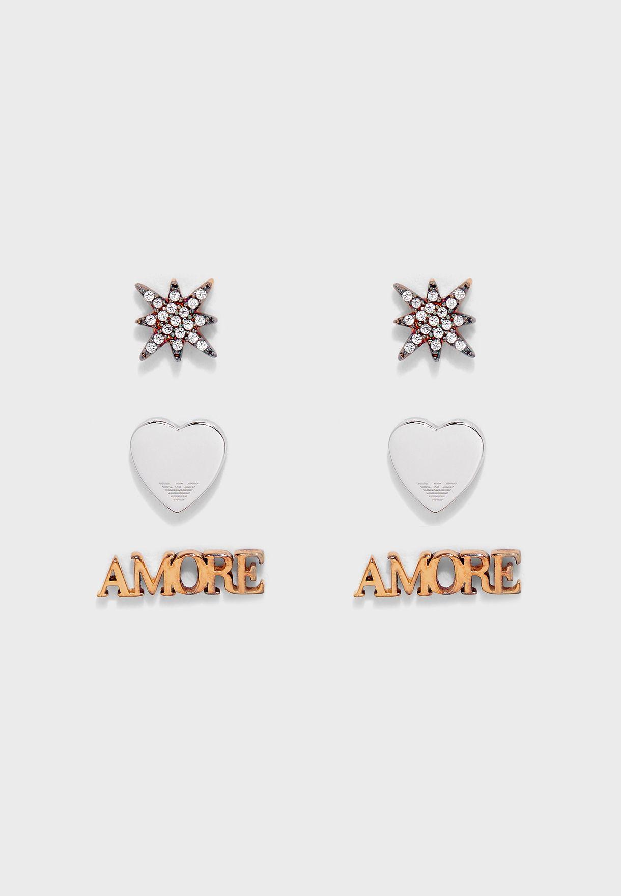 EG3415221 Stud Earrings Set