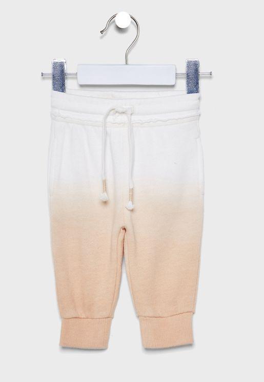 Infant Color Block Sweatpants