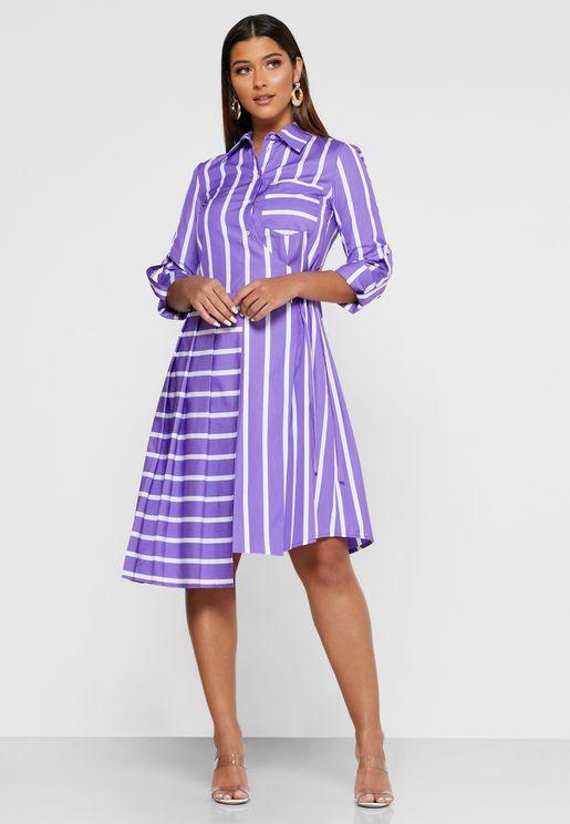 Abito Shirt Dress