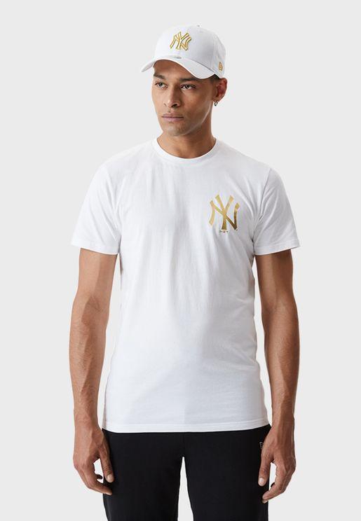 New York Yankees Metalic T-Shirt