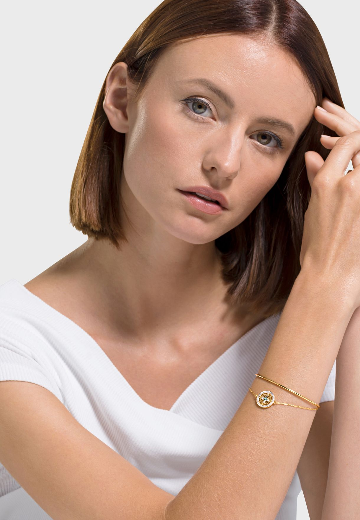 Mandala Bangle Bracelet