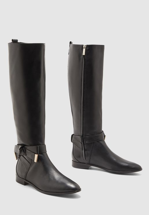 Wide Fit Sintial Knee Boot