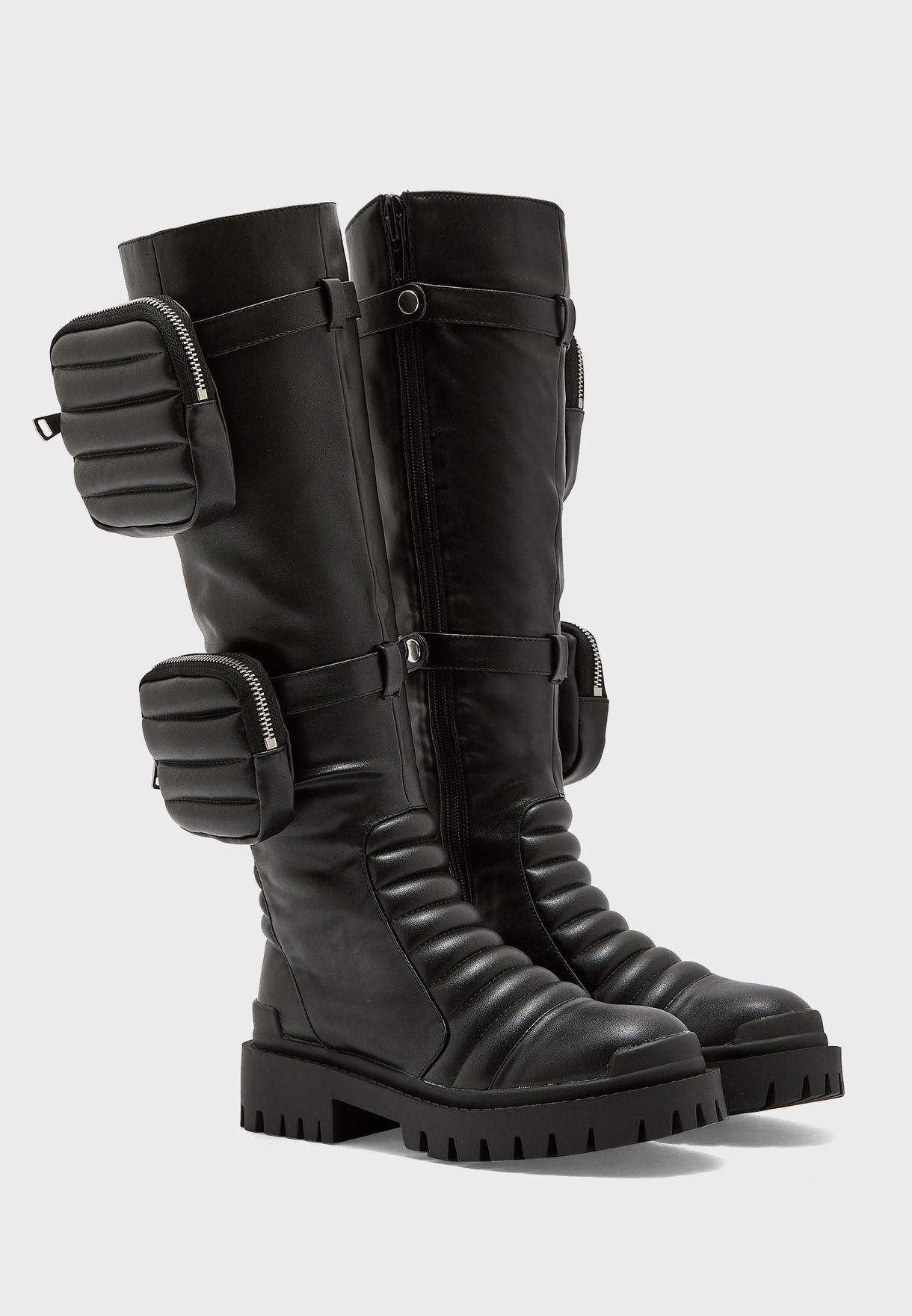 Hendrix Knee Boot