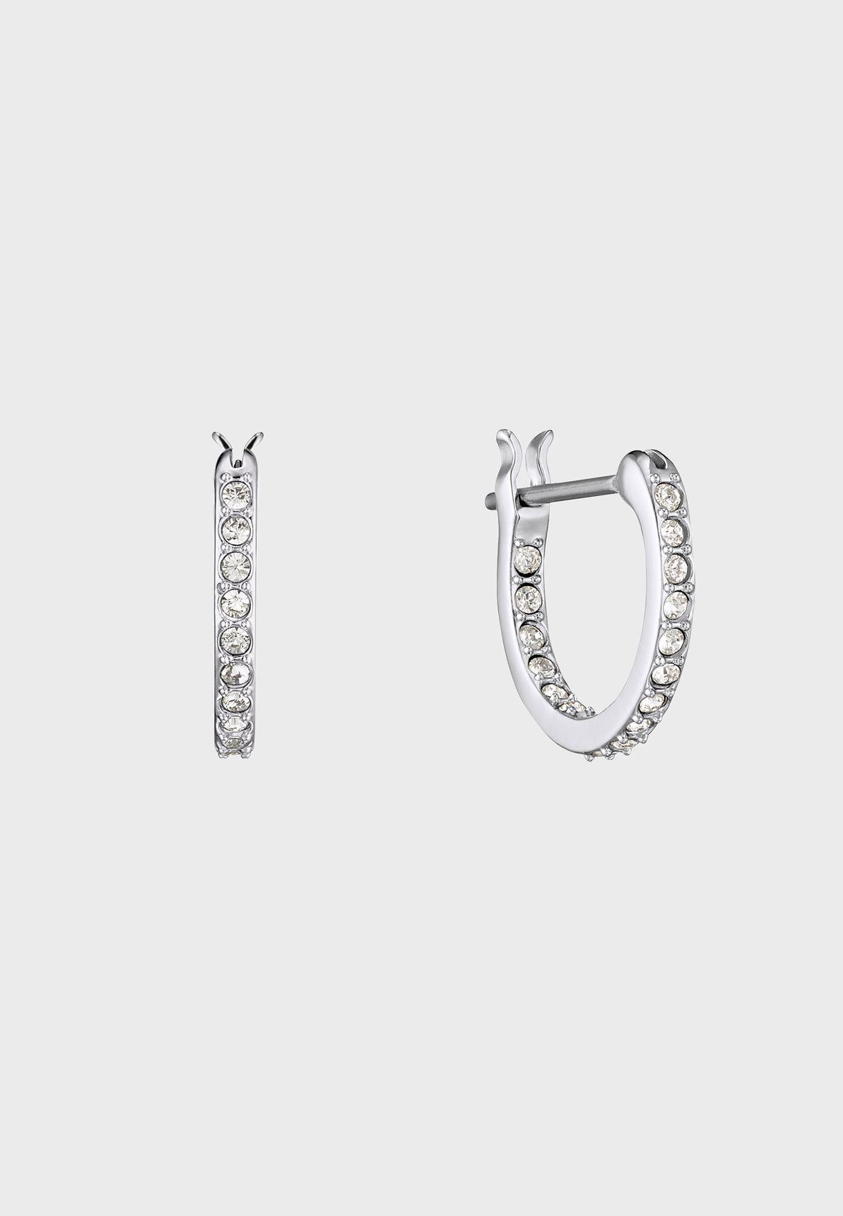 Iconic Swan Drop Earrings