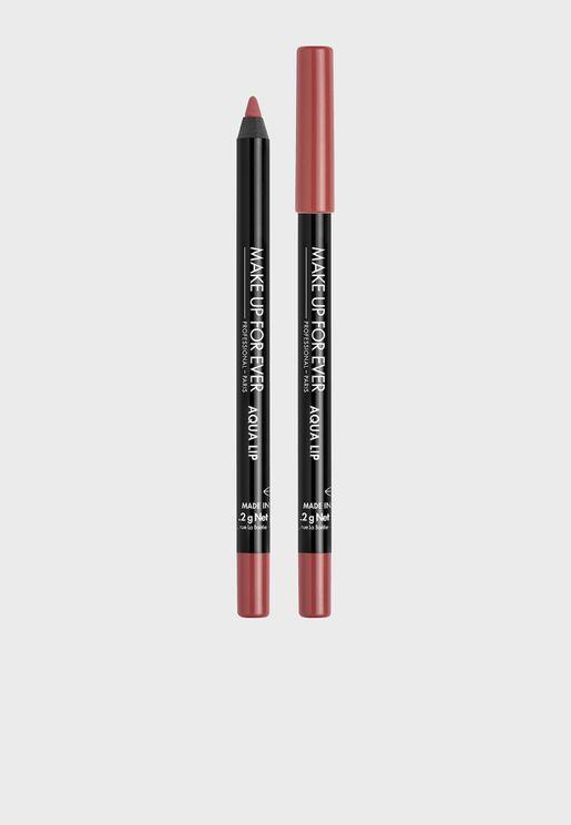 Aqua Lip Waterproof Lip Pencil Satin light Rosewoo