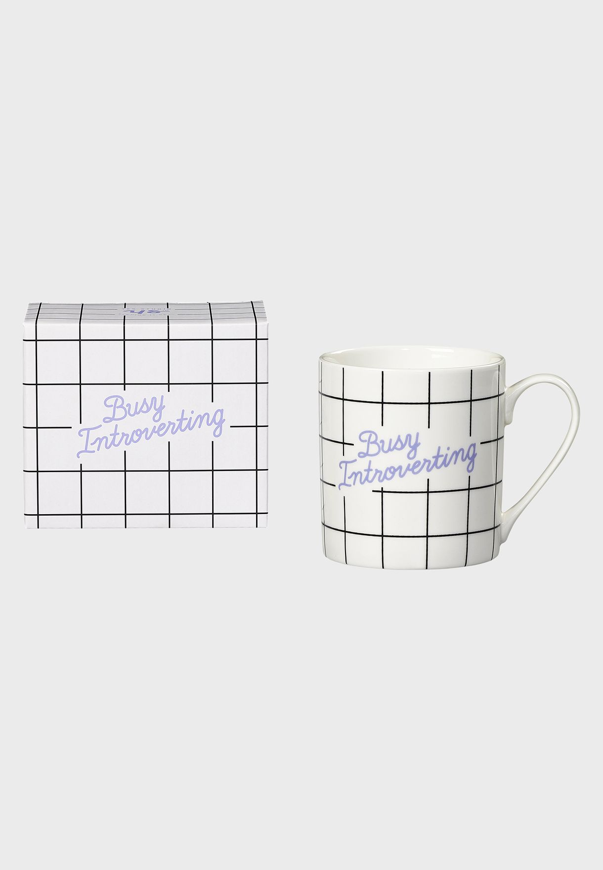 Busy Introverting Mug