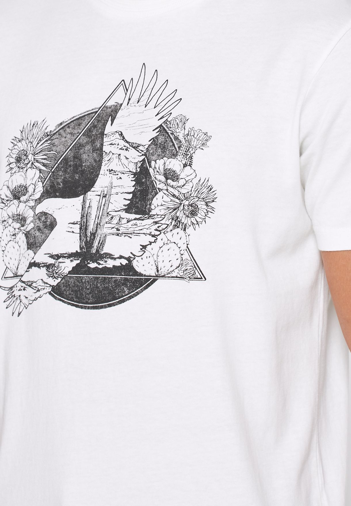Roman Crew Neck T-Shirt