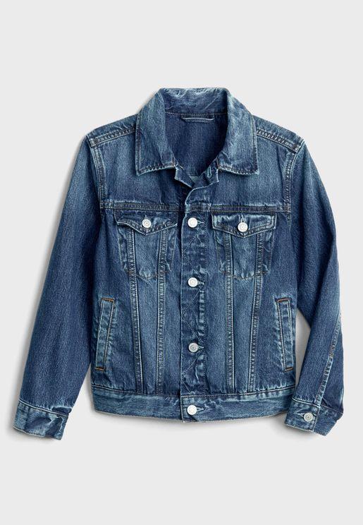 Kids Rugged Denim Jacket