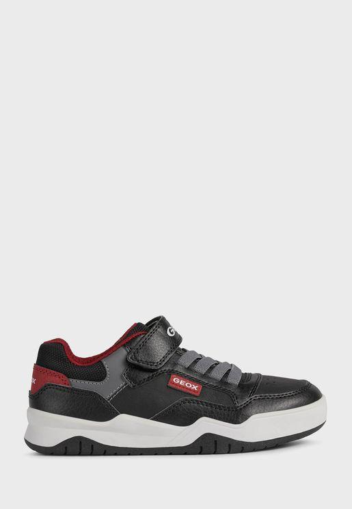 Kids Low Top Velcro Sneakers