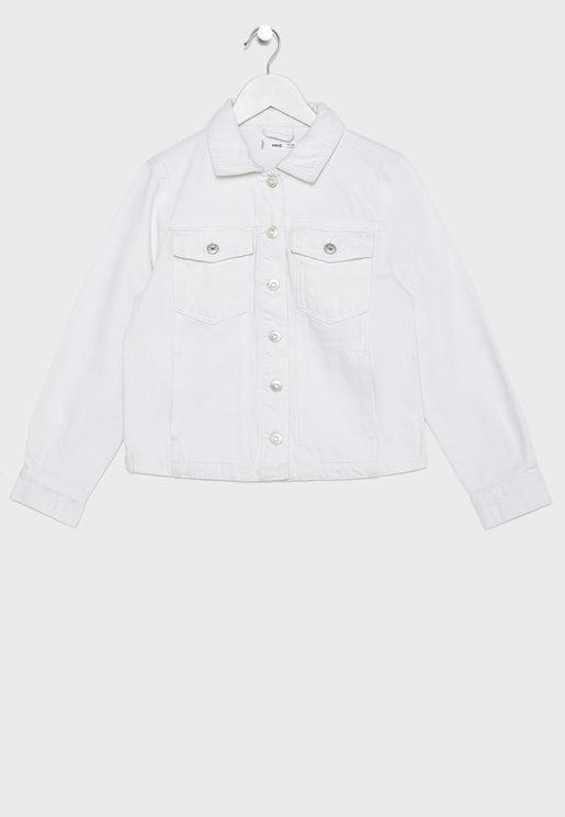 Kids Light Denim Jacket