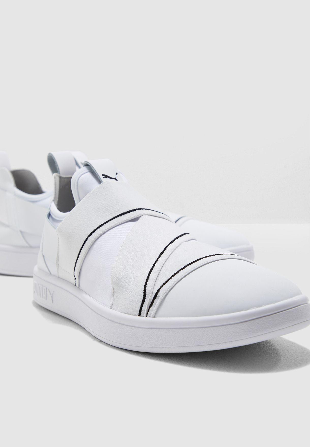puma smash v2 white