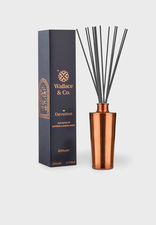 Oudh & Saffron Devotion Diffuser 200Ml
