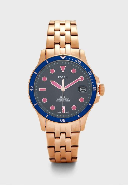 ES4767 Stainless Steel  Analog Watch