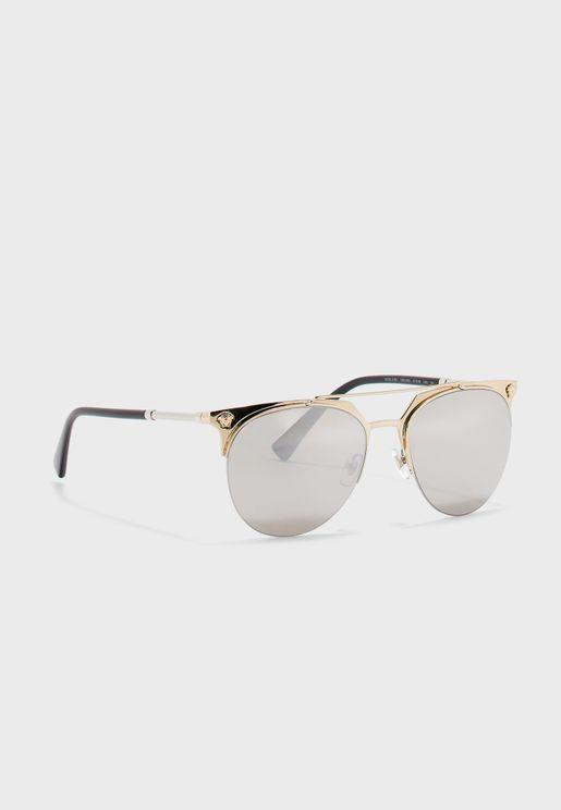 0VE2181 Top Bar Sunglasses