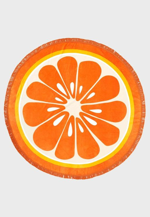 Citrus Beach Towel