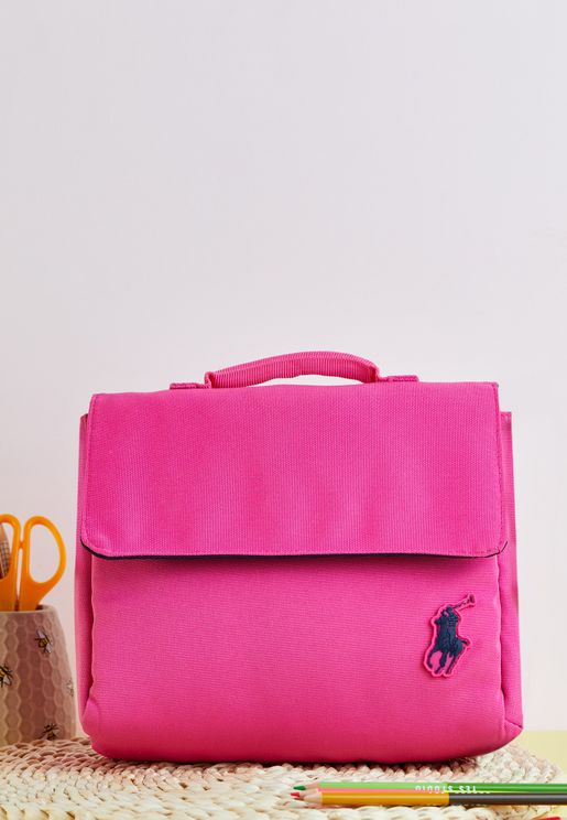 Logo Lunch Bag With Handle