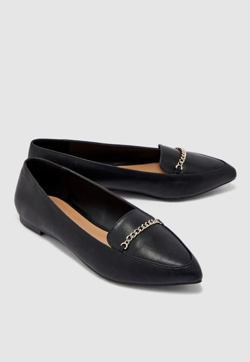 Rochelle Moccasin With Pointed Toe