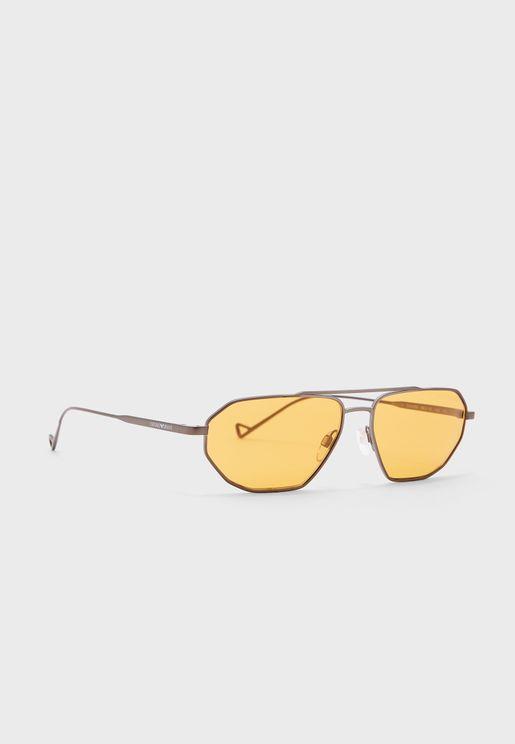 نظارة شمسية بعدسات عاكسة 0Ea2113