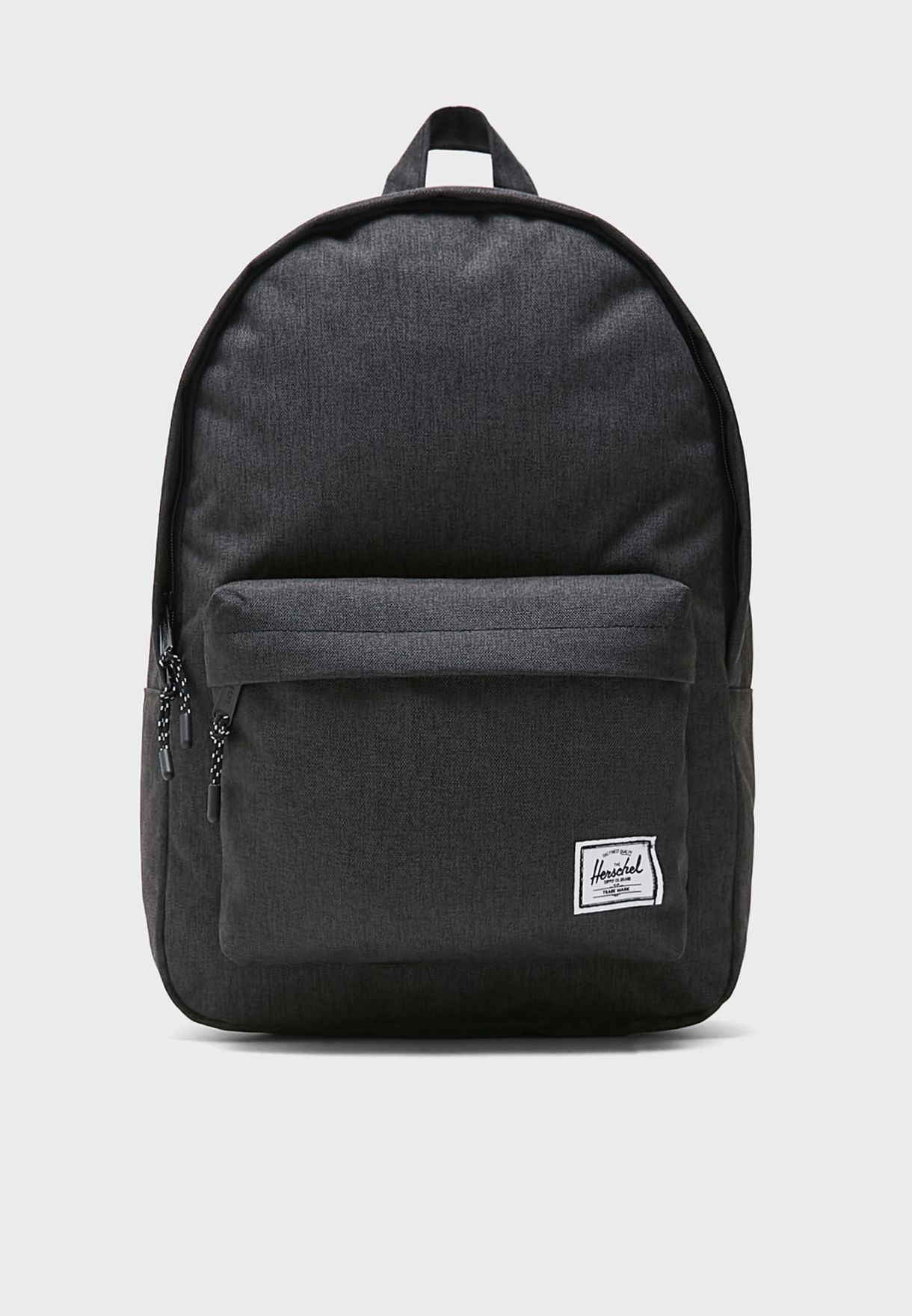 Classic Front Zip Pocket Backpack